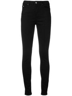 polka dot skinny jeans Karl Lagerfeld