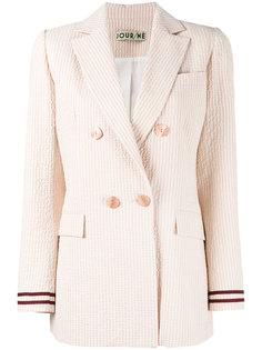 полосатый двубортный пиджак  Jour/Né