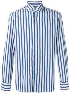 рубашка в полоску с длинными рукавами  Barba
