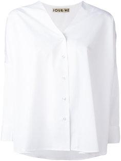 блузка с вышивкой на плечах  Jour/Né