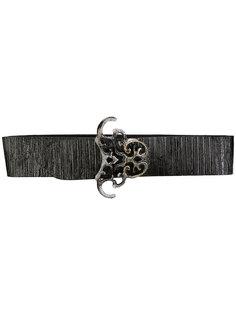 ремень в виде резинки c декоративной пряжкой  Giorgio Armani Vintage