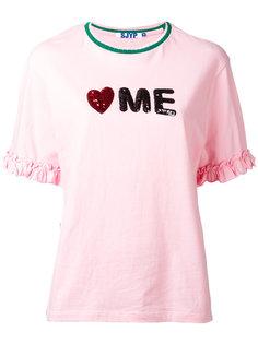 slogan T-shirt Steve J & Yoni P