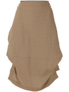 асимметричная юбка с поясом Vivienne Westwood Red Label