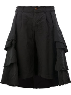 pleated tiered full skirt Comme Des Garçons