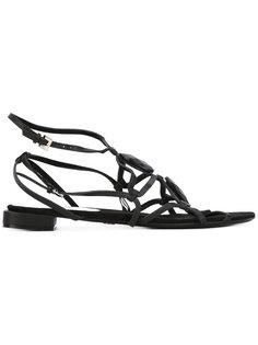 сандали с открытым носком Giorgio Armani Vintage