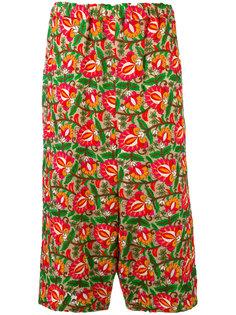 широкие брюки с цветочным рисунком Comme Des Garçons Comme Des Garçons