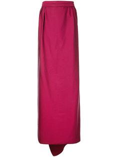 long woven skirt Paule Ka