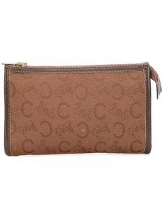 кошелек с монограммным узором в виде логотипа Céline Vintage