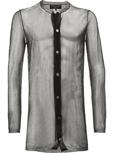прозрачная рубашка Comme Des Garçons Homme Plus