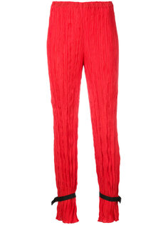 ankle strap pleated trousers Alyx