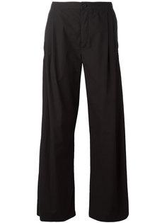 широкие брюки с завышенной талией Stephan Schneider