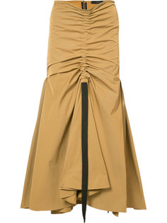 drawstring draped full skirt Ellery