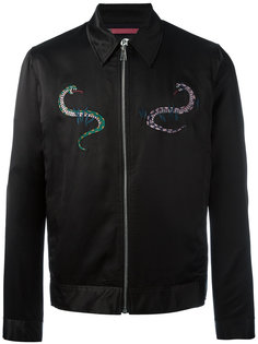 куртка-бомбер с нашивками Ps By Paul Smith