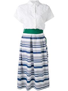 платье с зеленым поясом Beryl Sara Roka