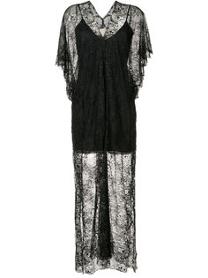 floral lace maxi dress Loyd/Ford
