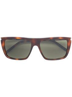 квадратные солнцезащитные очки Saint Laurent