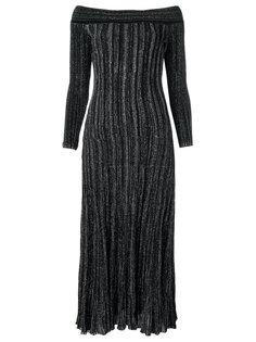 off the shoulder knit dress Gig