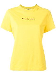 футболка с надписью Jour/Né