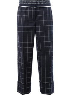 checked tailored pants  Thom Browne