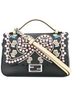 сумка Double Micro Baguette с вышивкой Fendi