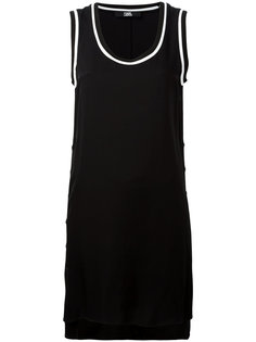 buttoned side mini dress Karl Lagerfeld