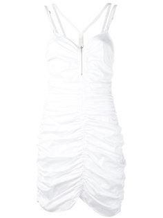 платье с присборенной отделкой  Alyx