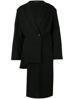 long asymmetric blazer  Yohji Yamamoto