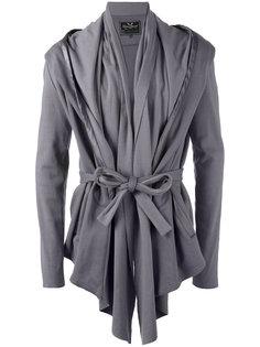 куртка с драпировкой и поясом Unconditional