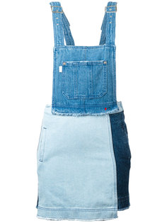 denim overall dress Steve J & Yoni P