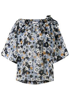 блузка с цветочным принтом Chloé