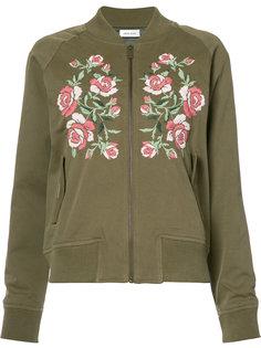 куртка-бомбер с вышивкой Anine Bing