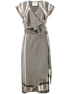 платье с рюшами keffiyeh  Cecilie Copenhagen