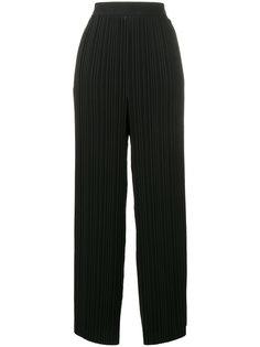 широкие плиссированные брюки Helmut Lang