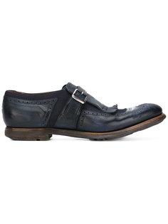 fringed loafers  Churchs