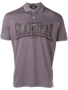 футболка-поло Glamhead  Dsquared2