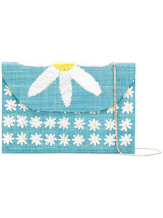 daisy embroidered shoulder bag Serpui