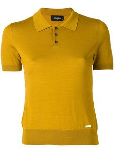 трикотажная рубашка-поло Dsquared2
