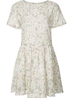 расклешенное платье с цветочным принтом Anine Bing