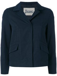 укороченный пиджак Herno