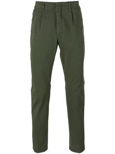 брюки-чинос кроя слим Dondup