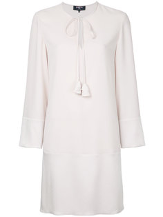 long sleeve woven mini dress Paule Ka