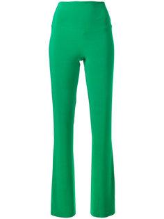 эластичные брюки клеш Norma Kamali