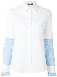 блузка с кружевной отделкой  Jour/Né