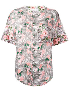 floral print shirt Julien David