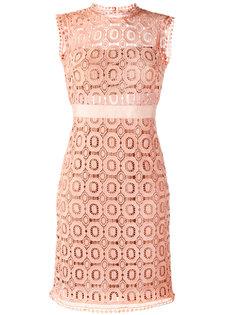 open lace fitted dress Essentiel Antwerp