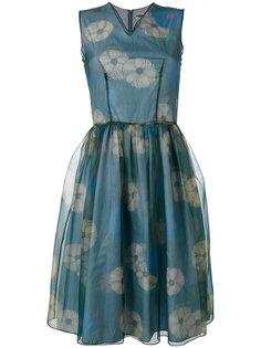 многослойное расклешенное платье  Hache