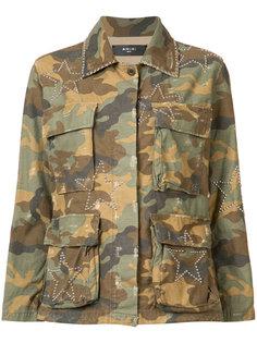 camouflage print jacket Amiri