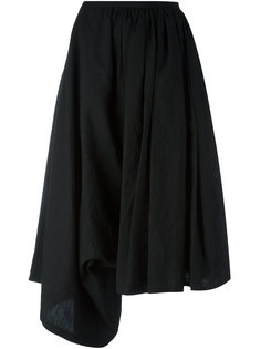 draped cropped trousers Yohji Yamamoto
