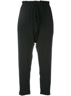 укороченные брюки на шнурке  Nº21