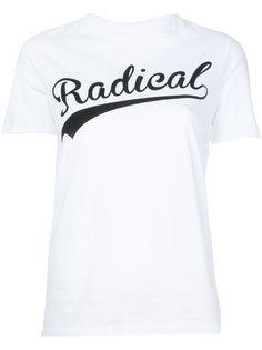 Radical slogan T-Shirt Être Cécile